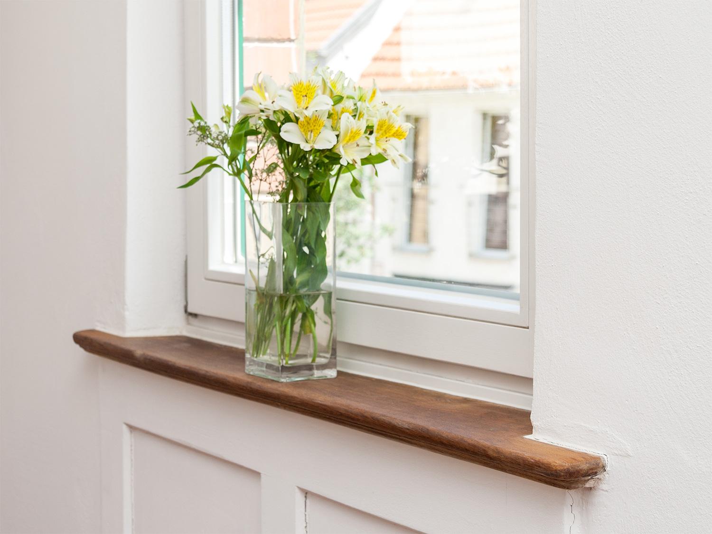 Fensterbank Renovierung - 11treedesigns: Schreinerei - Interior ...