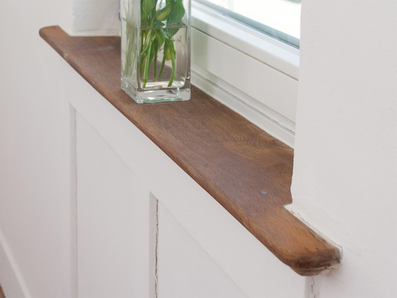 Fensterbank renovierung 11treedesigns schreinerei interior design wohnkultur - Fensterbrett innen holz ...